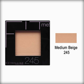 Medium Beige 245 Fit Me! Pressed Powder - Maybelline