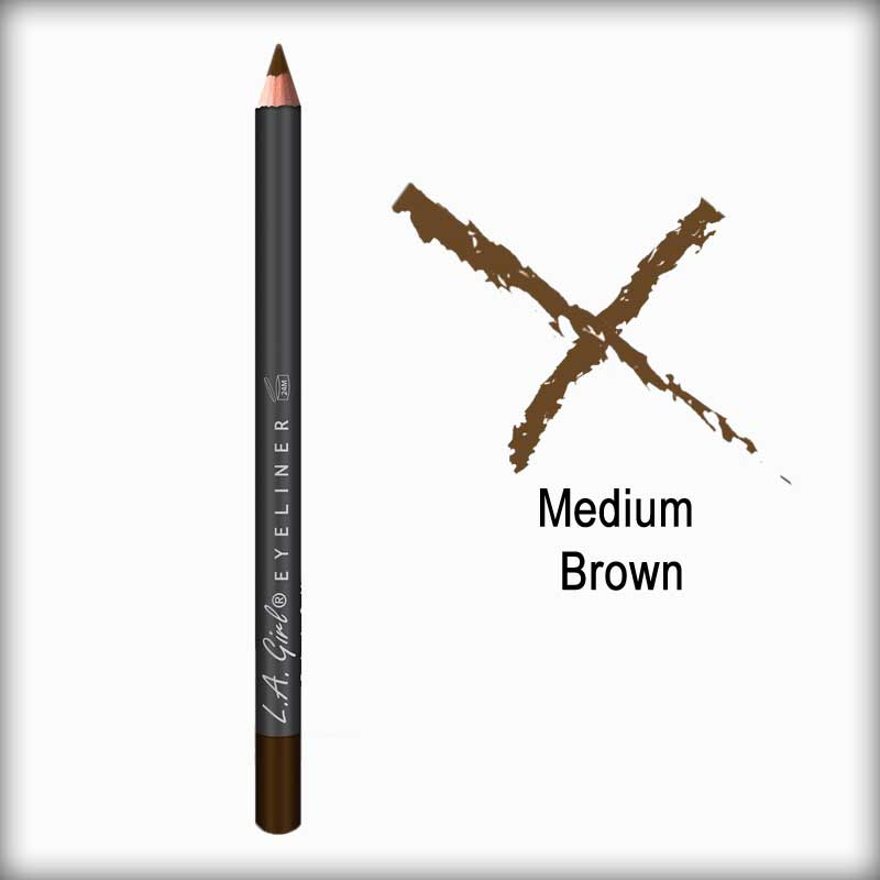 Medium Brown Eyeliner Pencil - L.A. Girl