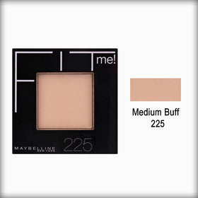 225 Medium Buff Fit Me! Pressed Powder - Maybelline