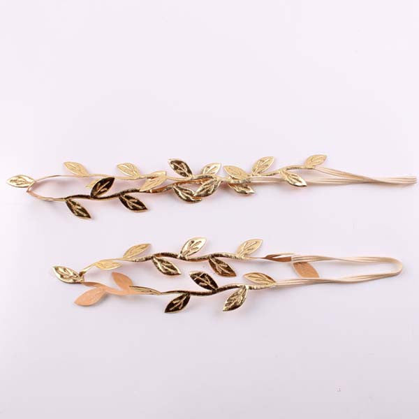 Mommy and Me Gold Leaf Headband - HomeBazar.pk - 1
