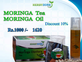 Herbyzone Moringa Tea and Moringa Oil