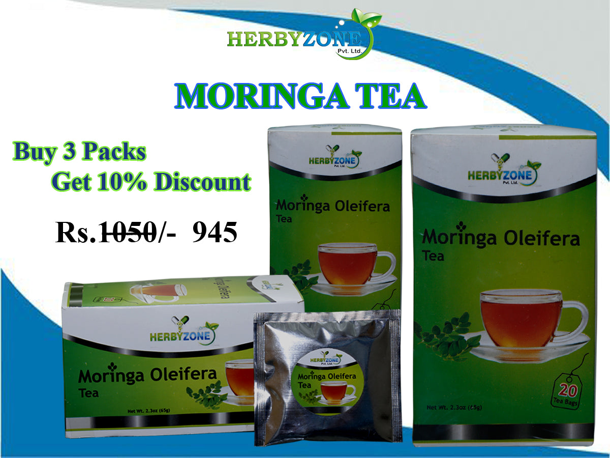 Herbyzone Moringa Tea 3 packs
