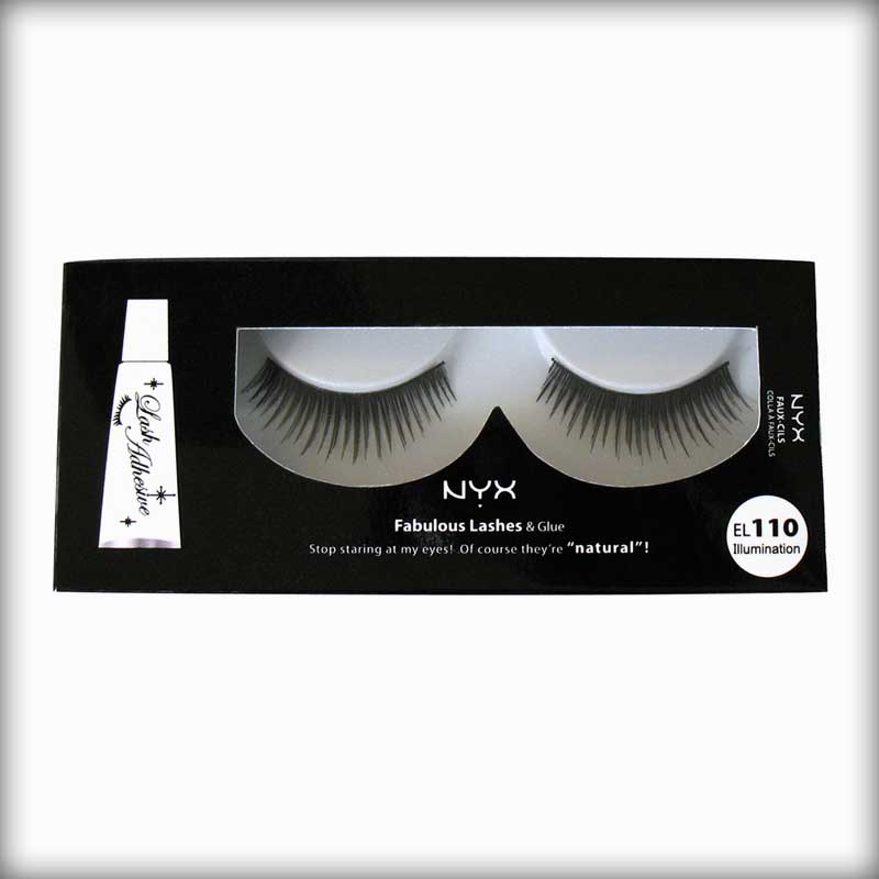 NYX Fabulous Lashes & Glue EL110 Illumination