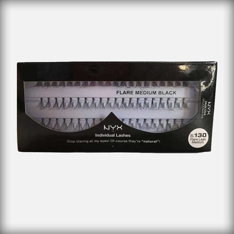 NYX Individual Lashes EL 138 Flare Lash Medium