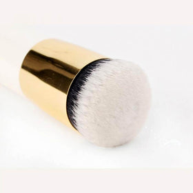 New Chubby Pier Foundation Brush Flat Cream Makeup Brush HomeBazar-pk5