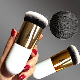 New Chubby Pier Foundation Brush Flat Cream Makeup Brush HomeBazar-pk2