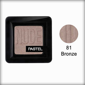 Pastel Pro Fashion Nude Single Eyeshadow 81 Bronze