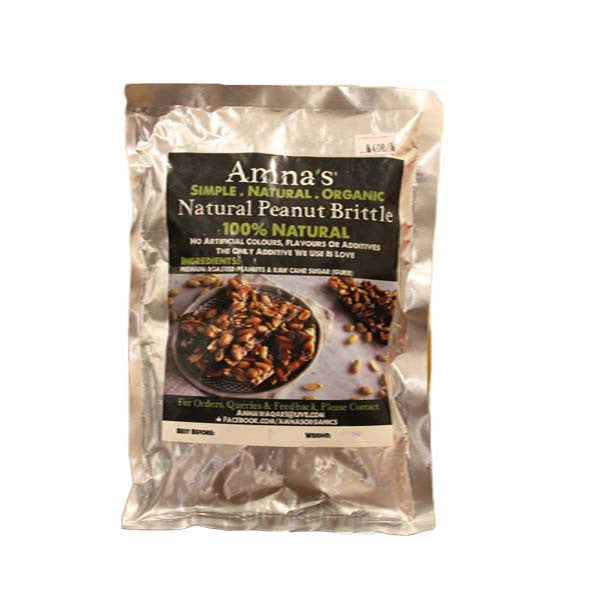 Amna's Natural Peanut Brittle - HomeBazar.pk