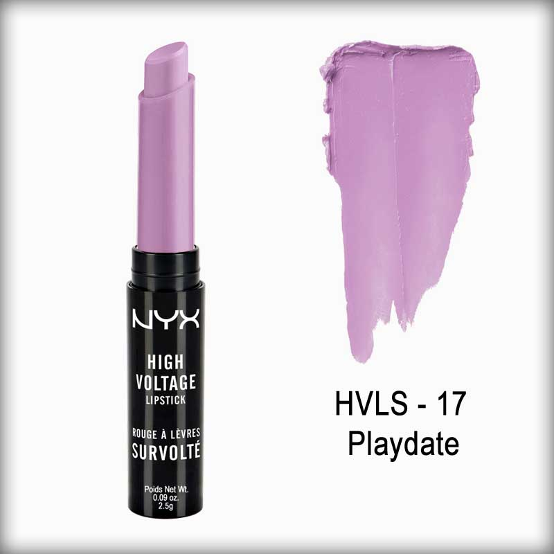 NYX High Voltage Lipstick Playdate Hvls17