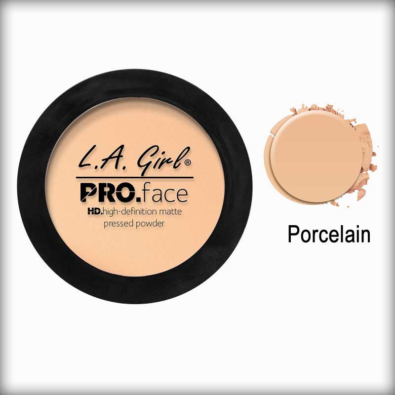 Porcelain Pro Face Pressed Powder - L.A. Girl