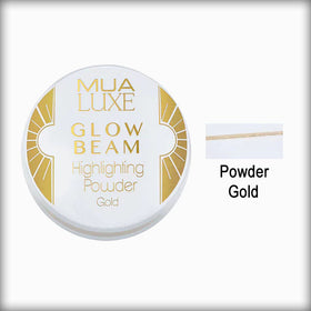 MUA Luxe Glow Beam Highlighting Powder - Gold 078