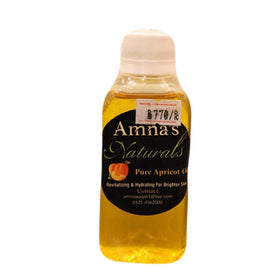 Amna's Natural Pure Apricot Facial Oil - HomeBazar.pk