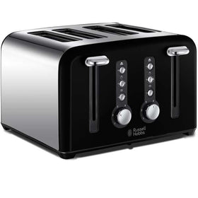Russell Hobbs Windsor 22832 4-Slice Toaster Black