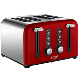 Russell Hobbs Windsor 22832 4-Slice Toaster Red