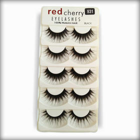 Red Cherry Human Hair Eyelashes 931