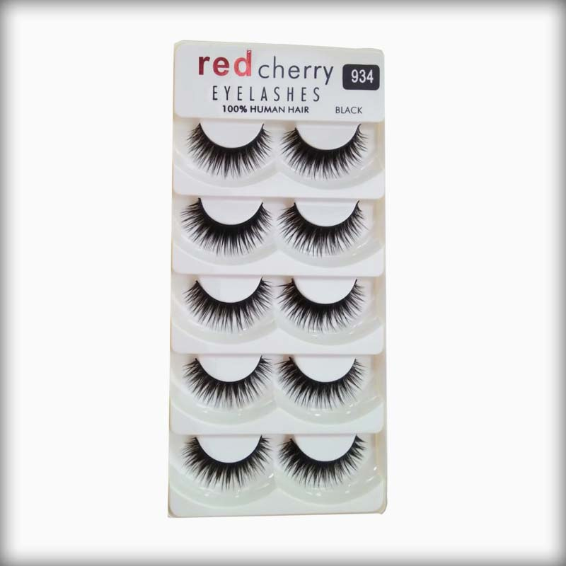 Buy Red Cherry Human Hair Eyelashes 934 Online At Best Prices