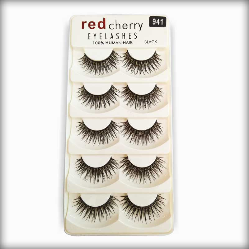 Buy Red Cherry Human Hair Eyelashes 941 Online At Best Prices