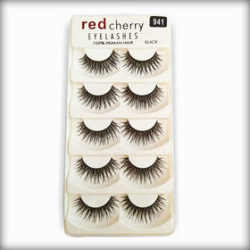 Red Cherry Human Hair Eyelashes 941