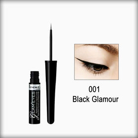Rimmel Glam'Eyes Professional Liquid Liner Black Glamour 001