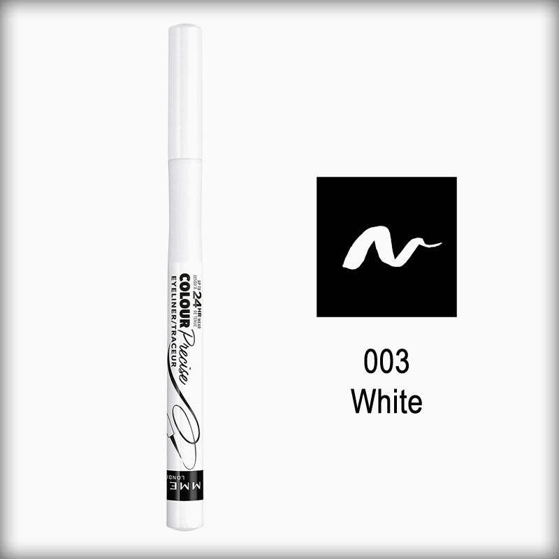 Rimmel London Colour Precise Eyeliner, 003 White