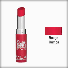 MUA Sweet Sheen Lip Balm Rouge Rumba