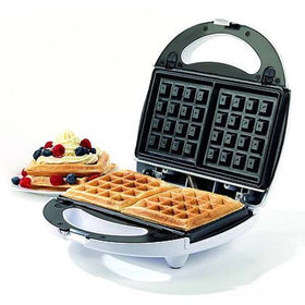 Salter Ek1651 3-In-1 Snack Maker With Sandwich/Waffle And Doughnut Plates