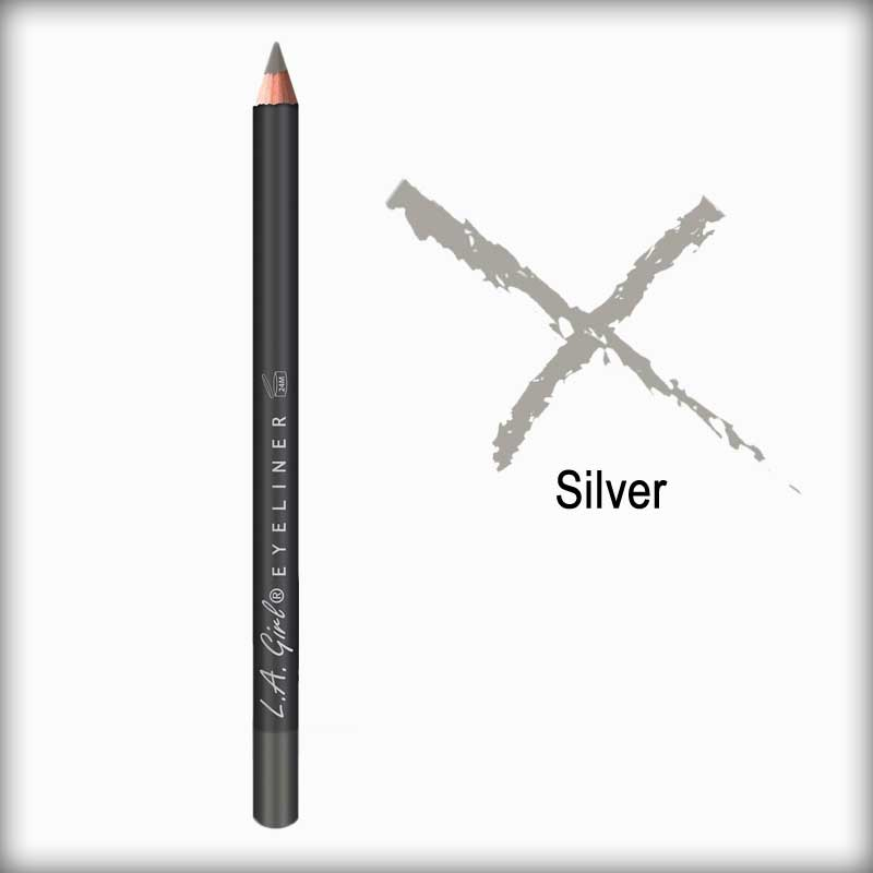 Silver Eyeliner Pencil - L.A. Girl