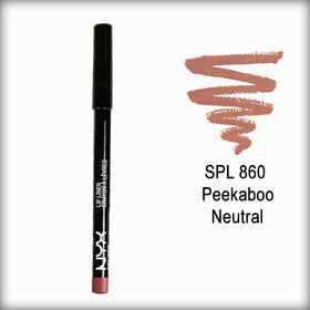 NYX Slim Lip Liner Pencil Spl 860 Peekaboo Neutral