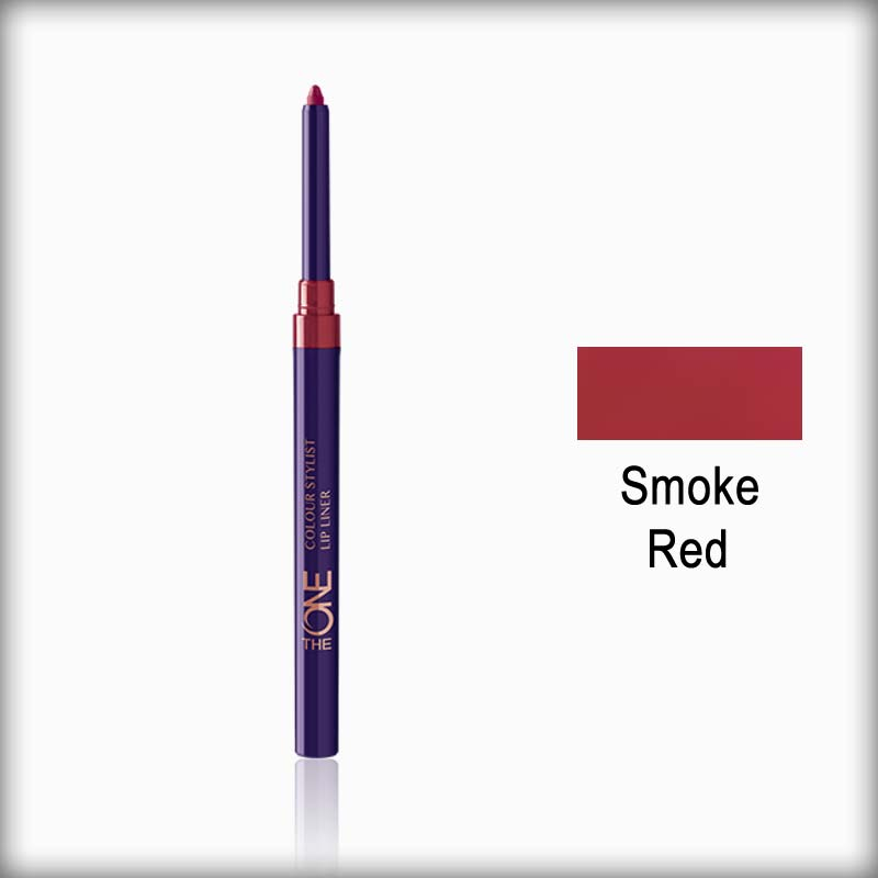The One Colour Stylist Lip Liner Smoke Red