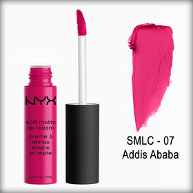 Soft Matte Lip Cream - Addis Ababa - Slmc 07 - Nyx