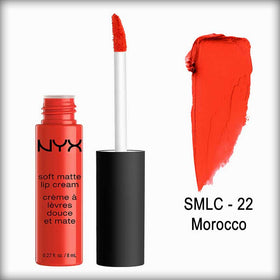 NYX Soft Matte Lip Cream Smlc 22 Morocco