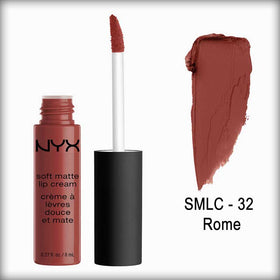 Soft Matte Lip Cream- Rome- Slmc32 - Nyx