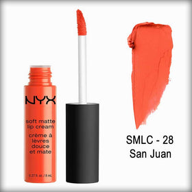 NYX Soft Matte Lip Cream Smlc 28 San Juan