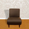 Touchwood Interior Dark Brown Office Visitor's Sofa