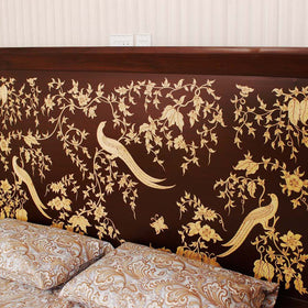 touchwood-interior-hand-painted-floral-bed-with-2-side-tables