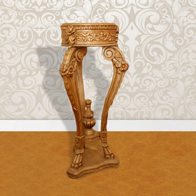 Touchwood Interior Handcarved Flower Stand