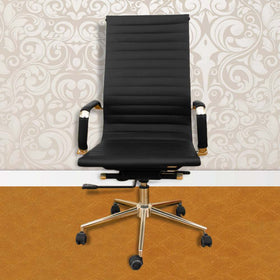 Touchwood Interior Office Revolving Black Chair