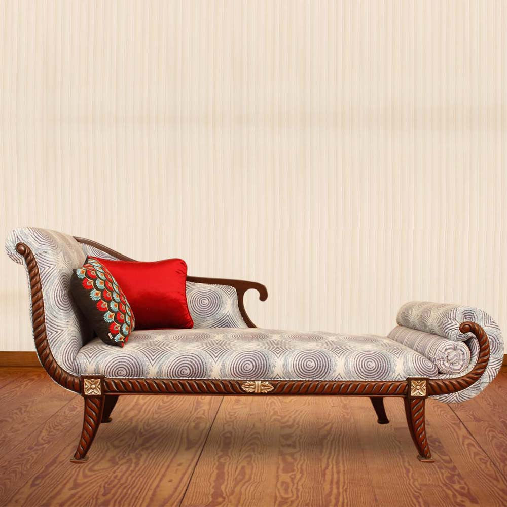 Touchwood Interior Sheesham Wood Bedroom Couch