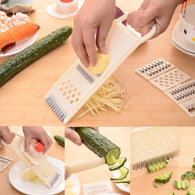 Vegetable Fruit Slicer Home Kitchen Convenient Peeler Chopper Cutter Dicer Practical Multifunctional Grater Set Cooking Tools
