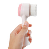 Ultra Soft Dual Facial Cleansing Brush 2-in-1