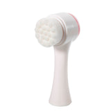 Ultra Soft Dual Facial Cleansing Brush 2in1