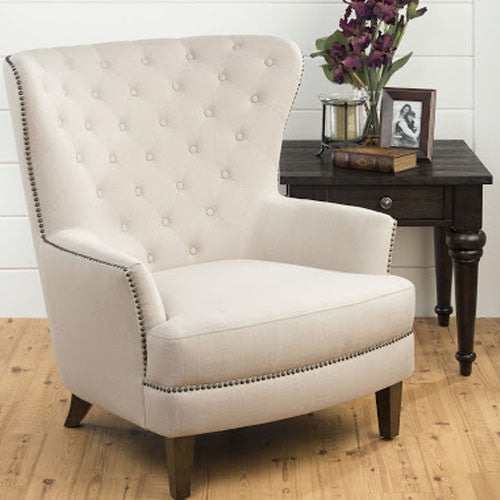 Touchwood Interior Upholstered Accent Conner Chairs