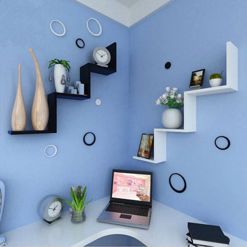 Touchwood Interior W Shaped 1-Piece Shelf
