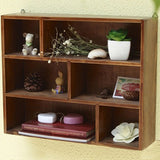 Touchwood Interior Wall Mounted Pine Wooden Rack