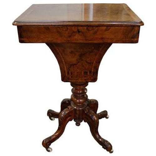 Touchwood Interior Walnut Side Table