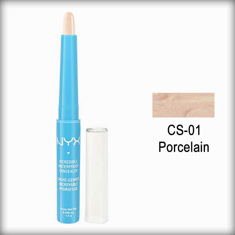 NYX Waterproof Concealer CS01 Porcelain