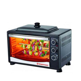 West Point Oven Toaster, Rotisserie Kabab Grill, BBQ Pizza Maker 34-Liter Wf-3400Rp - HomeBazar.pk