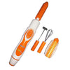 Weston Rechargeable Fruit & Vegetable Peeler – Orange & White