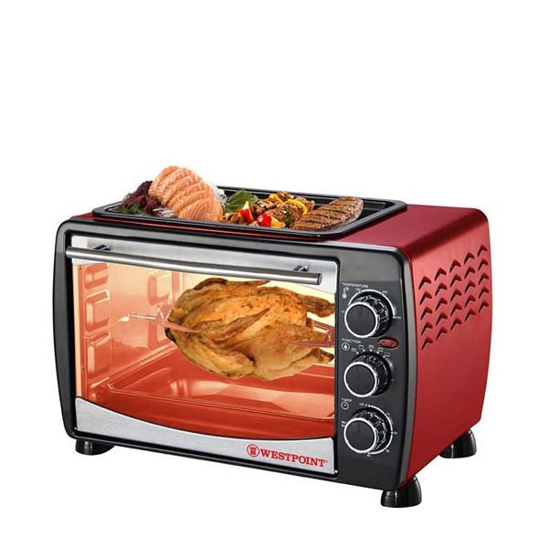 Westpoint Oven Toaster & Hot Plate Wf-2400Rd - 24 Ltr - HomeBazar.pk