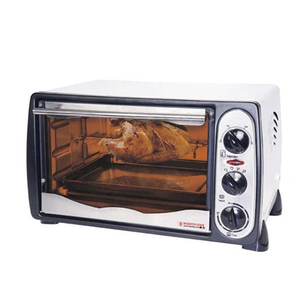 Westpoint-Wf-1800R---18-Ltr---Toaster-Oven-With-Rotisserie-